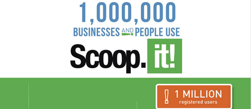 Scoop.it traguardo di 1 milione