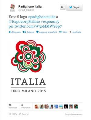 logo Expo 2015 padiglione Italia