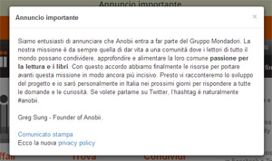 Mondadori compra Anobii