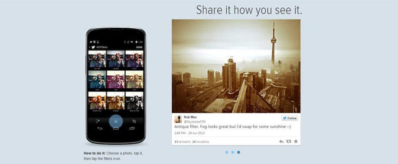 Twitter nuove funzionalità immagini