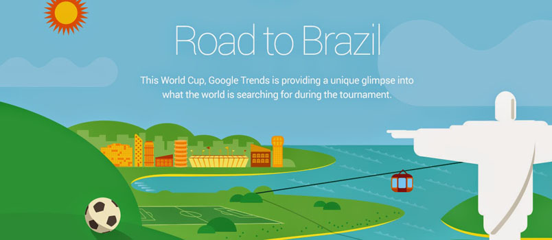 Web Trend World Cup 2014