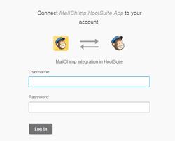 Mailchimp plugin Hootsuitet