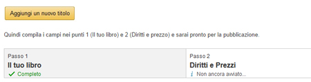Pubblicare un ebook su Amazon