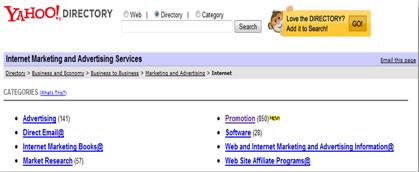 chiude la directory di Yahoo