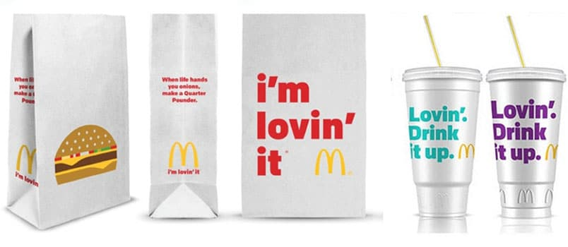 McDonalds rebranding