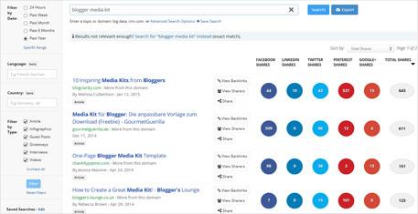 Media kit ricercaENG