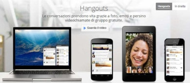Programmare Google Hangouts