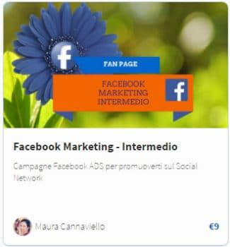Corso Facebook Marketing Intermedio