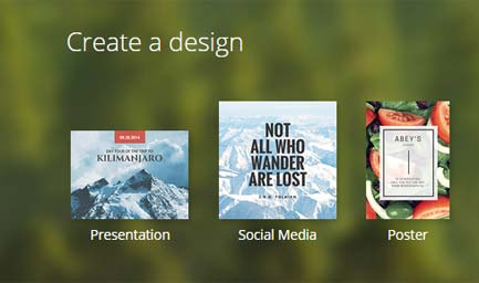 Canva - software design