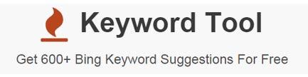 Keyword tool Bing