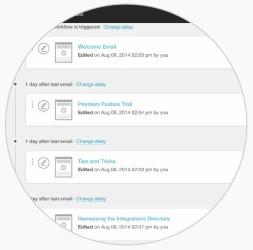 Messaggi automatici MailChimp concatenazioni