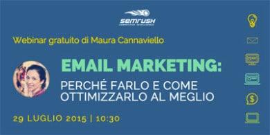 SEMrush Webinar Email marketing_Maura Cannaviello