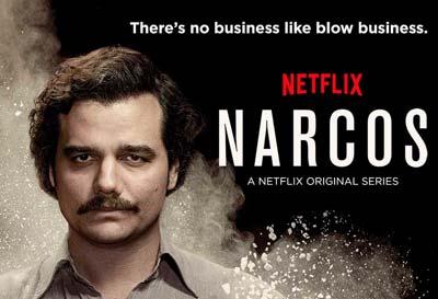 Netflix serie tv Narcos