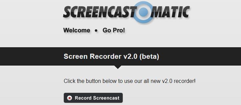 Come usare Screencast