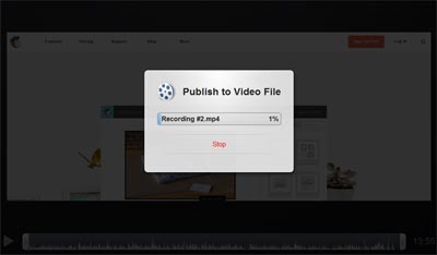 Come usare Screencast_saving