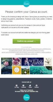 campagne email transazionali esempi_canva