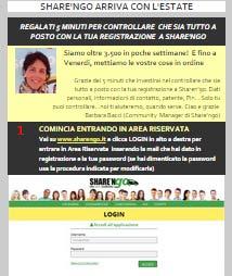 campagne email transazionali esempi_sharengo1