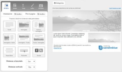 SendinBlu servizio di email marketing-editor-standard