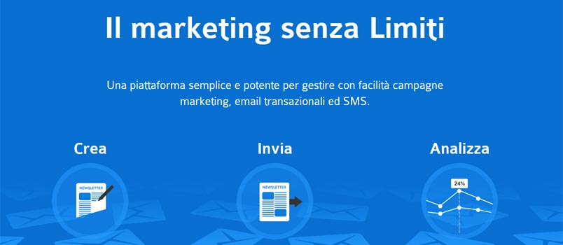 SendinBlu servizio di email marketing