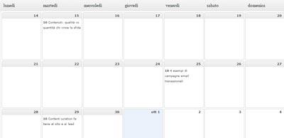 Programmare post su WordPress_calendar data