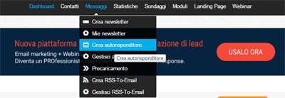Usare gli autorisponditori di GetResponse1