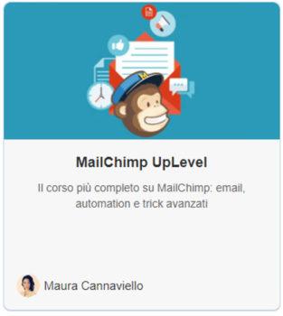 Mailchimp corso online completo e aggiornato