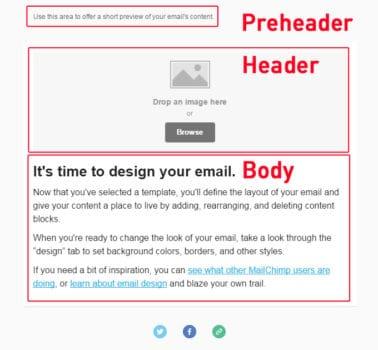 Preheader MailChimp