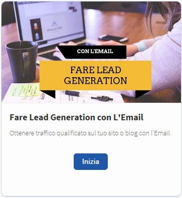 Lead Generation con l'Email corso gratis