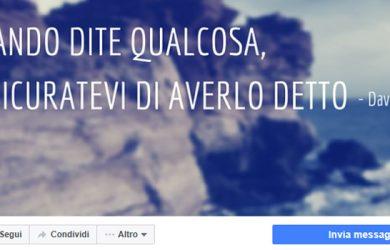 Tab page Facebook_ultime novità