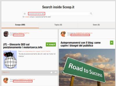 Scoop.it ottenere traffico nuovo blog_risultati