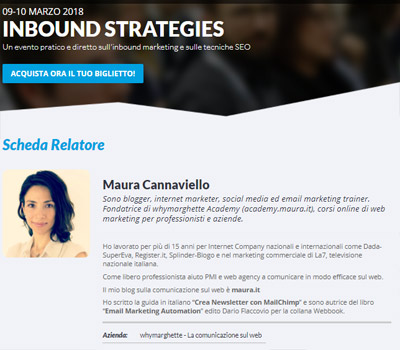 Maura Cannaviello_Speaker Inbound Strategies
