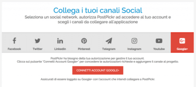 PostPickr gestisce Google Plus