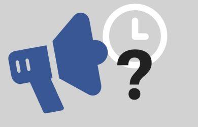 durata pubblicità su Facebook
