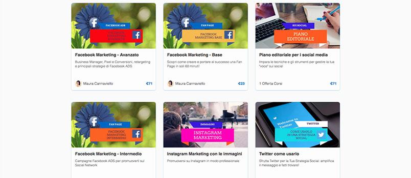 corsi online social media marketing su WMAcademy