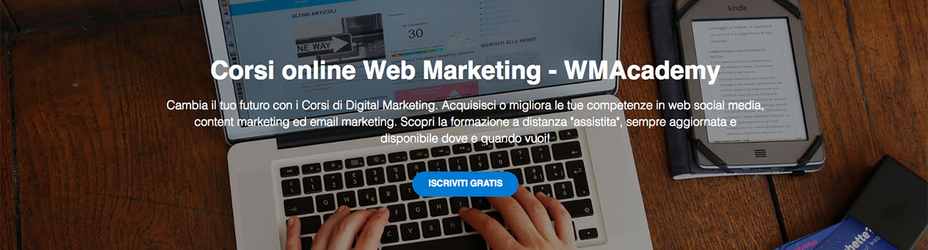 corsi online whymarghette Academy iscrizioni