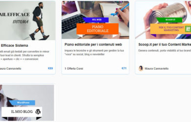 Content marketing corsi online su WMAcademy