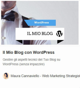 Ebook gratuito: Il Mio Blog con WordPress