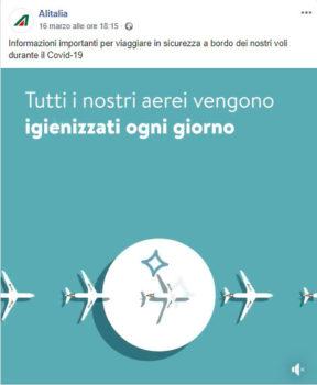 Alitalia video frame 1